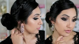 ROMANTIC DRUGSTORE PROM HAIR AND MAKEUP | BeautyyBird