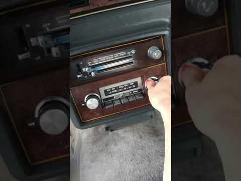 My 1984 Monte Carlo radio check