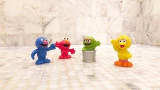 SESAME STREET Toys Shower Wash Time