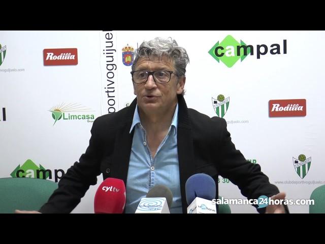 Rueda de prensa tras el CD Guijuelo - UD Somozas