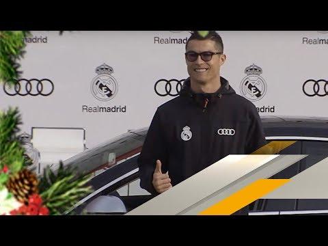Bescherung für Ronaldo und Co.: Neue Autos bei Real Madrid | SPORT1