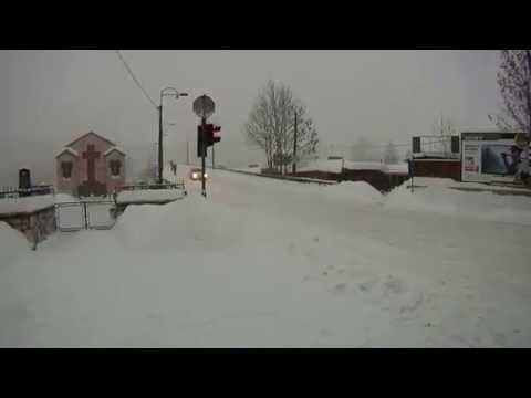 Sniježna mećava u Sarajevu (kod pijace Ciglane) - 03.02.2012.