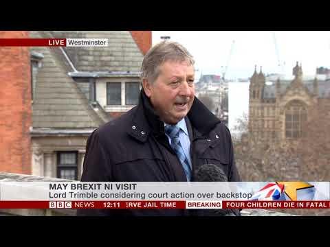 Sammy Wilson MP on BBC News