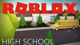 ROBLOX: High School Part 2 (The Forest)