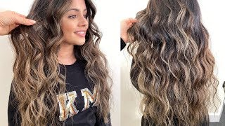 HAIR VLOG | BALAYAGE ON DARK ASIAN HAIR WITH NICKY LAZOU | KAUSHAL BEAUTY