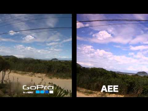 Go Pro HD Hero x AEE Action Camcorder