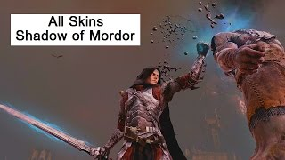 Skins of the Shadow Of Mordor: Power Shadow, Dark Ranger, Talion. Middle Earth Outfits