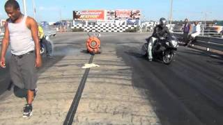 moe 07gsxr 1000 vs mj 09 hayabusa off there trailer