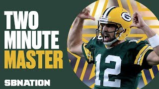 Why Aaron Rodgers is king of the two-minute drill | Xs & Os w/ Geoff Schwartz, Ep. 3
