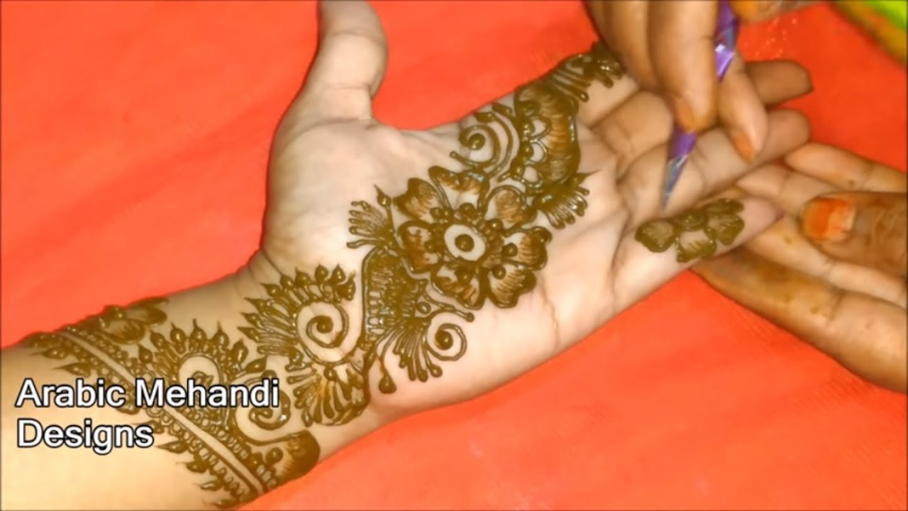 New Arabic Bridal Mehandi Designs For Full Hands Easy Wedding Arabic Mehndi Designs Front And Back