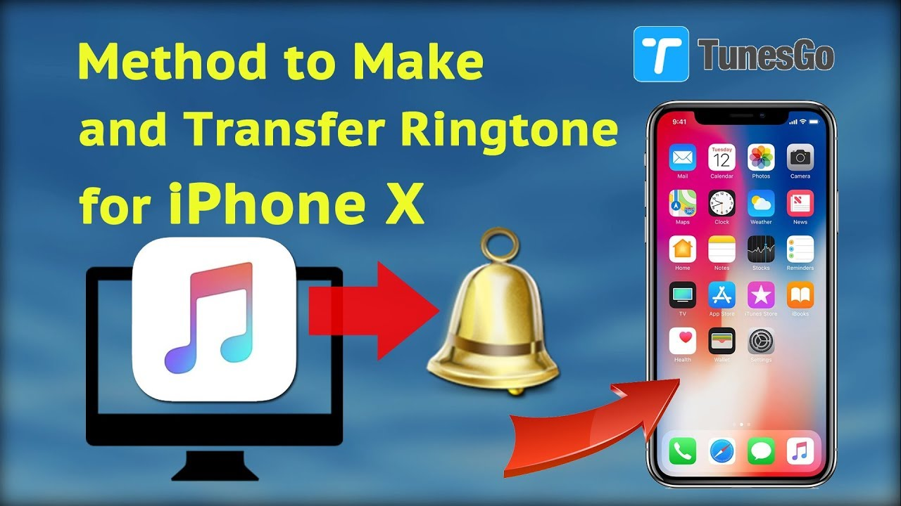create iphone ringtone method to make and transfer ringtone for iphone x 9646