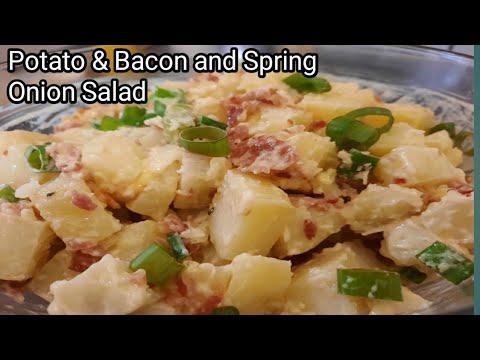 Potato Salad Recipe Bacon Spring Onion