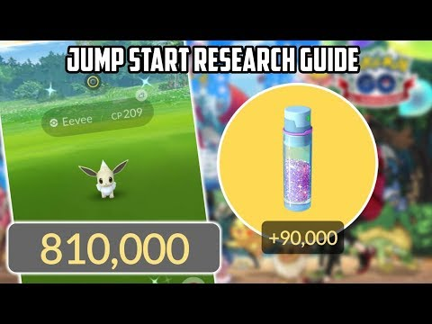Easy Jump Start Special Research Guide For Pokemon Go!