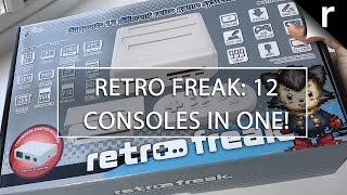 Retro Freak Unboxing: 12 consoles in 1, NES Classic Mini destroyer!