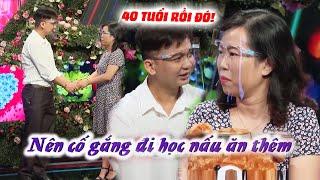 Gái U40 ko biết nấu ăn XẤU HỔ tột độ vì chàng trai KO BẤM NÚT khuyên về Học nấu ăn mới có Chồng 😳 screenshot 5