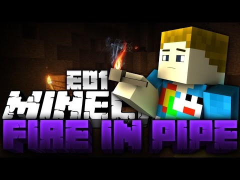 "Minecraft: Fire In The Pipe - Hardcore Modded Survival #1 ""VILLAGE OP"""