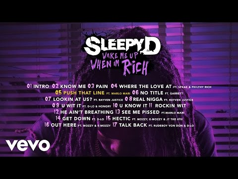 Sleepy D - Push That Line (Audio) ft. Marlo Mari