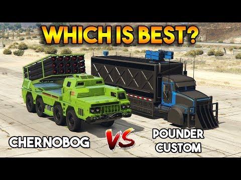 GTA 5 ONLINE : CHERNOBOG vs POUNDER CUSTOM (WHICH IS BEST?)