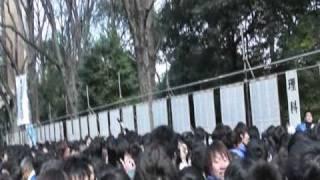 東大合格発表2011 Entrance Exam Results Day, The University of Tokyo
