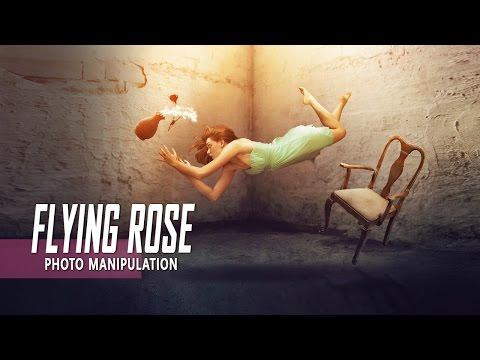 Making Levitation Photo Manipulation Effect In Photoshop