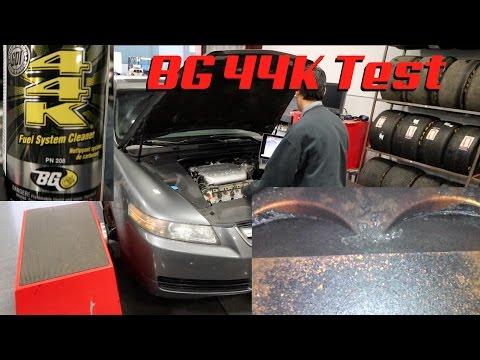 BG 44K Test / Acura TL Dyno