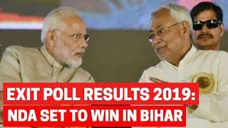 Bihar Exit Poll Results 2019: BJP-led NDA set to win as LS ele…