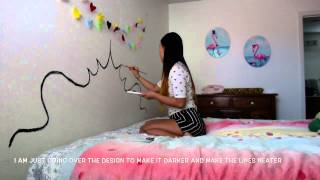 Diy: Paint A Headboard On Your Wall