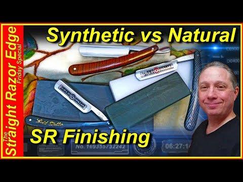 How To Finish Your Straight Razor, Synthetic vs Natural, Straight Razor Edge Friday Special