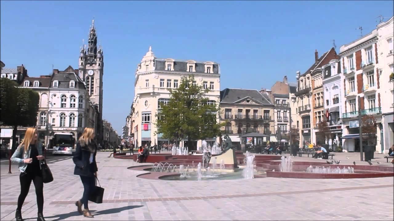 Time lapse ville de douai test youtube for Piscine des glacis douai