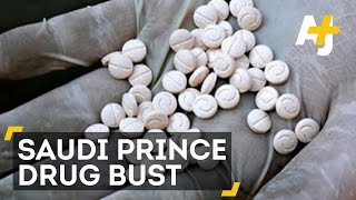 Saudi Prince Caught In Major Drug Bust At Beirut Airport