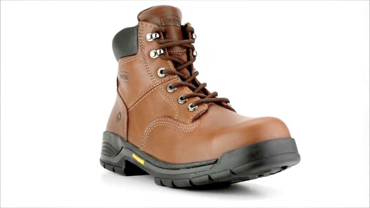 fc8a2bcd424 Men's Wolverine W04904 Steel Toe Work Boot @ Steel-Toe-Shoes.com