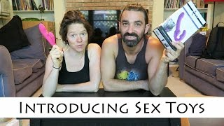 Introducing sex toys in the bedroom || Unboxing from adameve.com