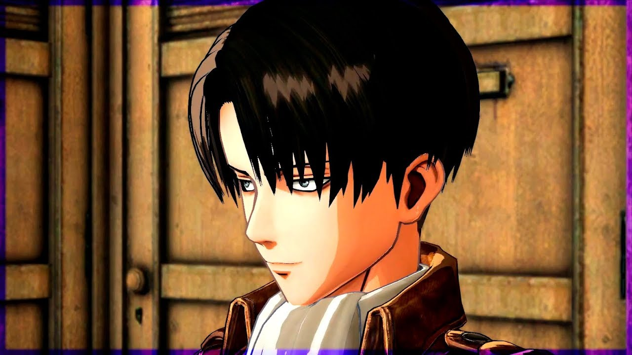 Attack on titan levi dating game