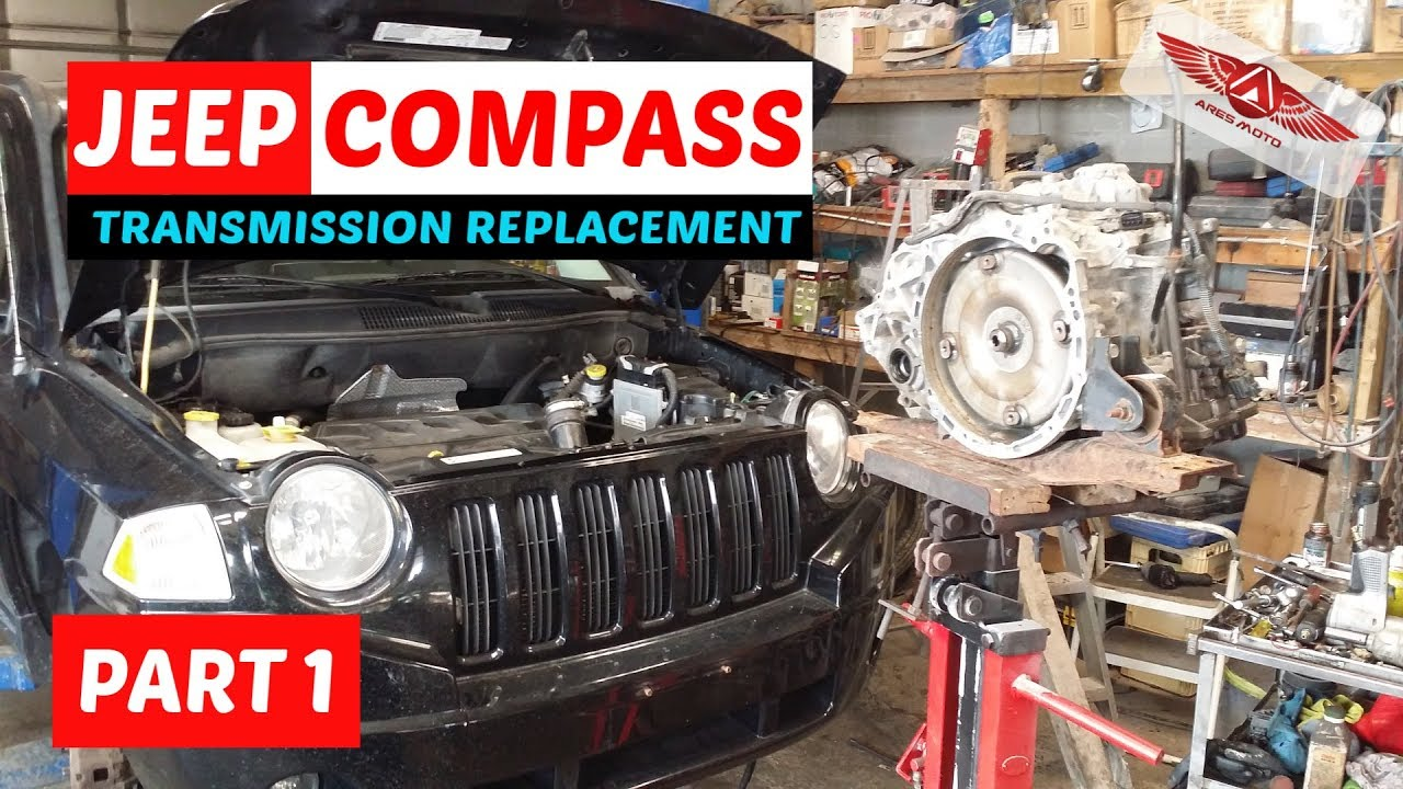 hight resolution of jeep compass cvt transmission removal part i