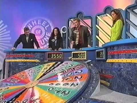 Wheel of Fortune (Australia) - December 20 1996 - Tony Barber's Final Episode