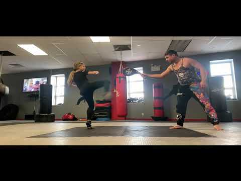 Training System Kicks and Acrobatics System Martial Arts Alex Lee