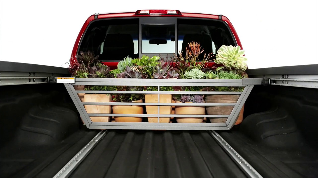 Nissan Frontier Accessories: Sliding Bed Divider