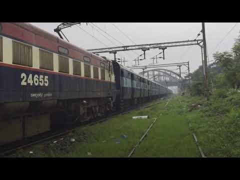 17652 Kacheguda - Chengalpattu express passing Kodambakkam