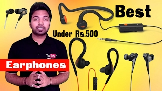Top 5 earphones under Rs.500| Best Budget Earphones |Hindi