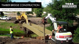 York Bridge Concepts™ - Atlantic Beach Country Club Pedestrian Bridge - Atlantic Beach, Fl
