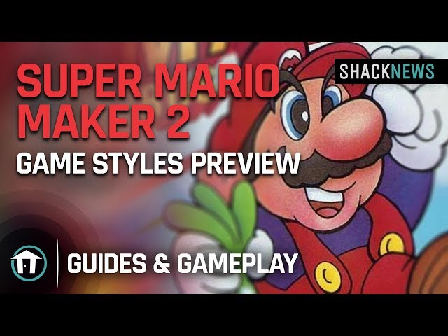 Super Mario Maker 2 review: Infinite Mario | Shacknews