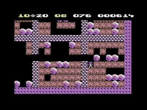 C64 BoulderDash