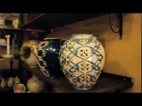 Ceramiche di caltagirone youtube