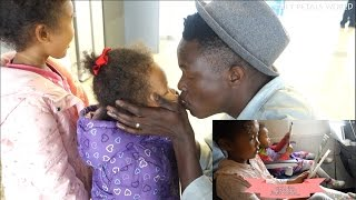 Gambar cover GOODBYE, DADDY | FLYING ALONE WITH KIDS | Family Life Vlog ep. 104 Korean/Kenyan Couple