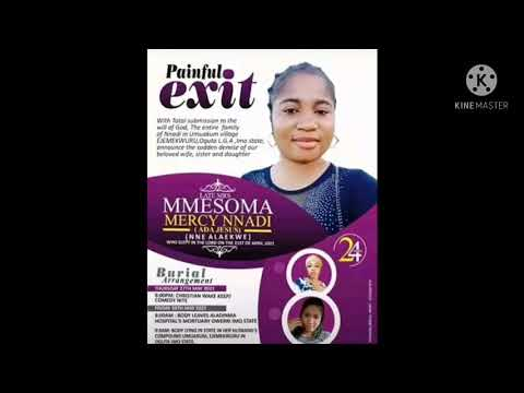 Download ADA JESUS COMEDIENNE  OBITUARY RELEASED BY FAMILY