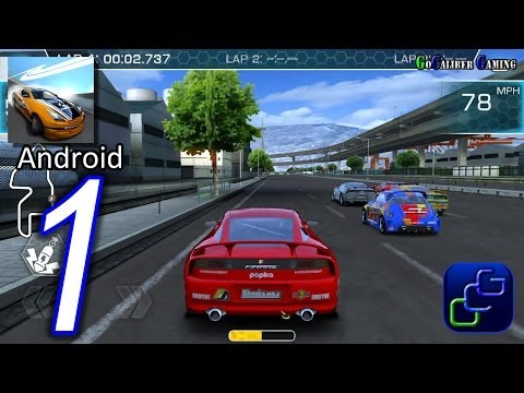 RIDGE RACER Slipstream Android Walkthrough - Gameplay Part 1 - Career Rookie
