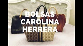Bolsas Carolina Herrera originales// Reseña// Como identificar