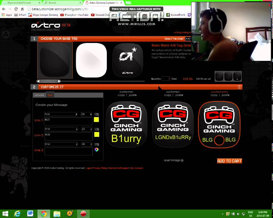 astro a40 custom speaker tags youtube. Black Bedroom Furniture Sets. Home Design Ideas