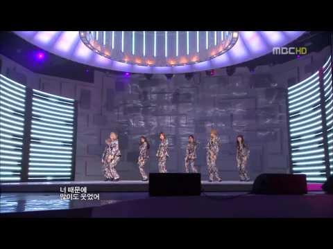 [091231][HD] After School - Because Of You + AH! @ Gayo Daejun
