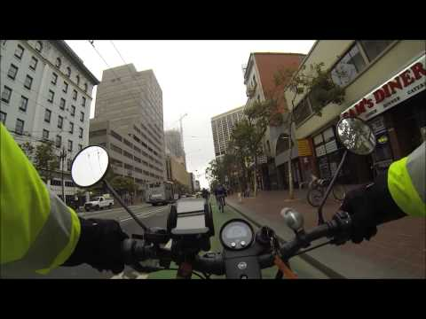 a2b metro generation 2 | San Francisco e-bike ride to downtown and beyond...